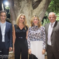 A family dinner in honor of Brigadier General Yacoub Moawad on the occasion of receiving the 12th Brigade Command