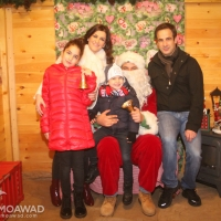 Christmas Village in Zgharta - first day activities