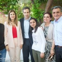 Elected MP Michel Moawad receives congratulators in Zgharta - 1