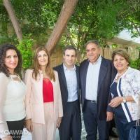 Elected MP Michel Moawad receives congratulators in Zgharta - 2