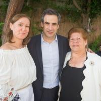 Elected MP Michel Moawad receives congratulators in Zgharta - 3