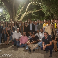 Independence Movement youth-zgharta-zawia district dinner in Ehden