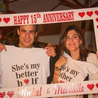 Michel and Marielle Moawad 15th wedding anniversary
