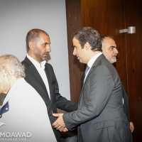 Michel Moawad and Jawad Boulos, heading a delegation of the Independence movement, offer condolences to Scholar Hani Fahs family