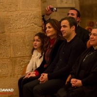 Michel Moawad attending Tania Kassis concert in zgharta