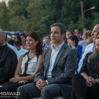 Michel Moawad attends the Toula-Aslout municipality concert honoring army generals