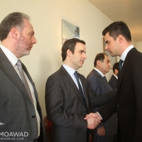 Michel Moawad attends Toufic Moawad memorial mass