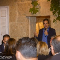 Michel Moawad hosts a dinner at his residence in Ehden for Lebanese-Australians visiting Lebanon