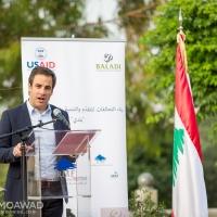 Michel Moawad inaugurates the baladi program project in Abra