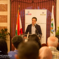 Michel Moawad inaugurates the blood testing laboratory in Deir Eimar