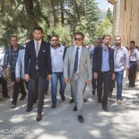 Michel Moawad participates in the 15th anniversary of the Mountain Reconciliation