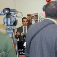 Michel Moawad visiting minister Harb 25-2-2014