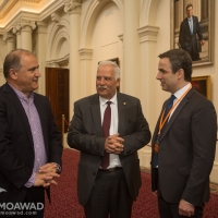 Michel Moawad visits the Parliament of Victoria
