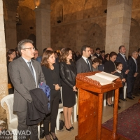 Family holds mass to commemorate the assassination of President Rene Moawad and his companions