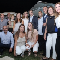 Two family dinners hosted by Fouad Moawad and Tony Farid Moawad