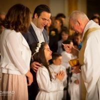 Yara Michel Moawad first communion