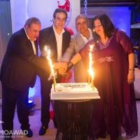 عشاء إحتفالي بضيافة الشيخ دودو وجوليانا عبد