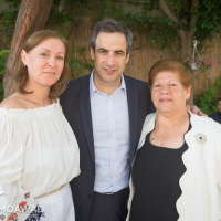 النائب المنتخب ميشال معوض يتقبل التهاني في زغرتا-3
