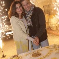 عشاء بمناسبة الذكرى ١٤ لزواج ميشال وماريال معوض من تنظيم موظفي الكازينو في حركة الإستقلال
