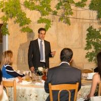 عشاء في دارة ميشال معوض في اهدن على شرف وفد من استراليا