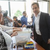 ميشال معوض يشارك في الانتخابات البلدية والاختيارية في زغرتا