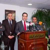 ميشال معوض يزور الوزير أشرف ريفي 24-2-2014