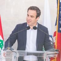 ميشال معوض يشارك في إفتتاح مركز لتصنيع الزيتون في روم - جزين