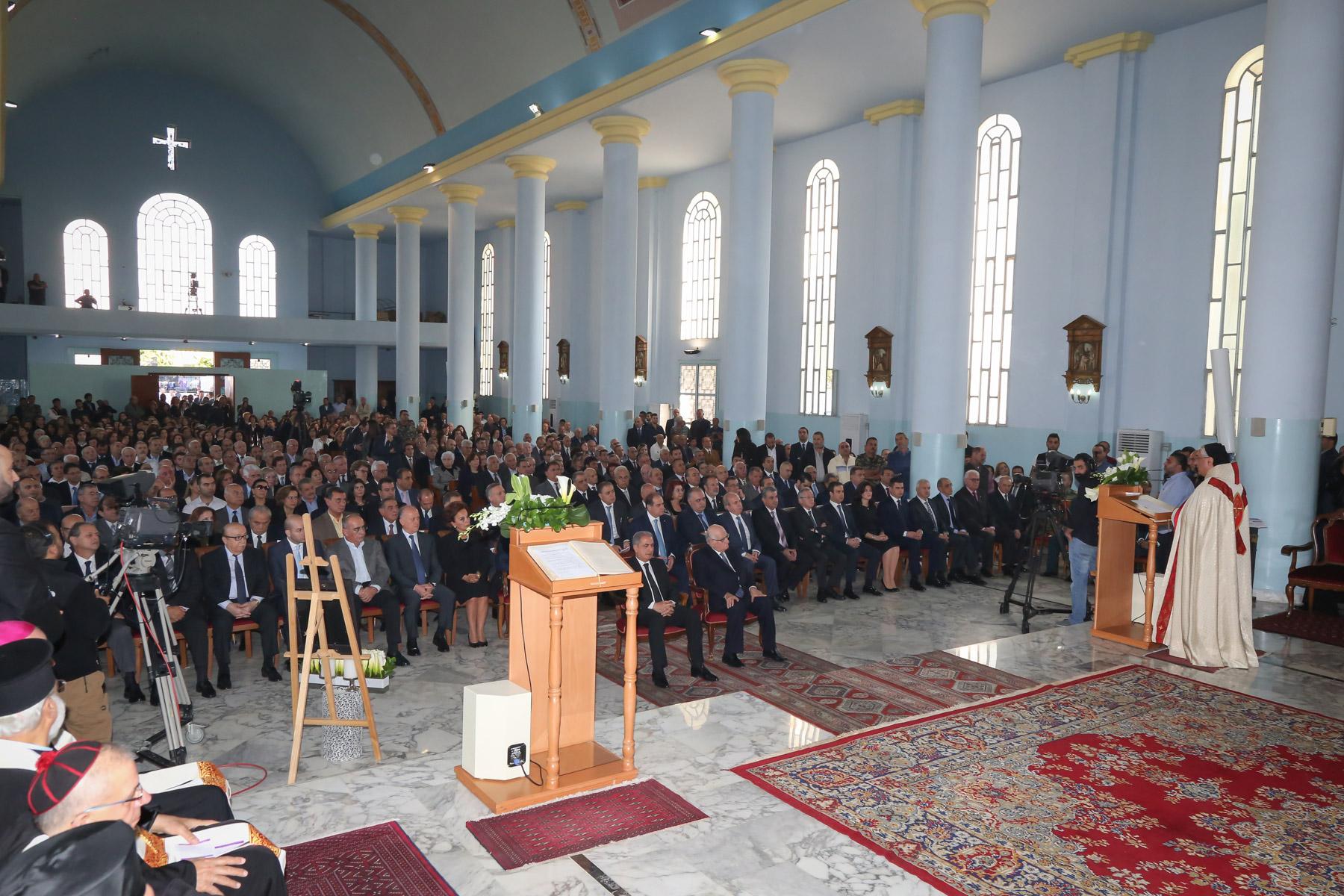 President-Rene-Moawad-26th-Memorial-Mass-5